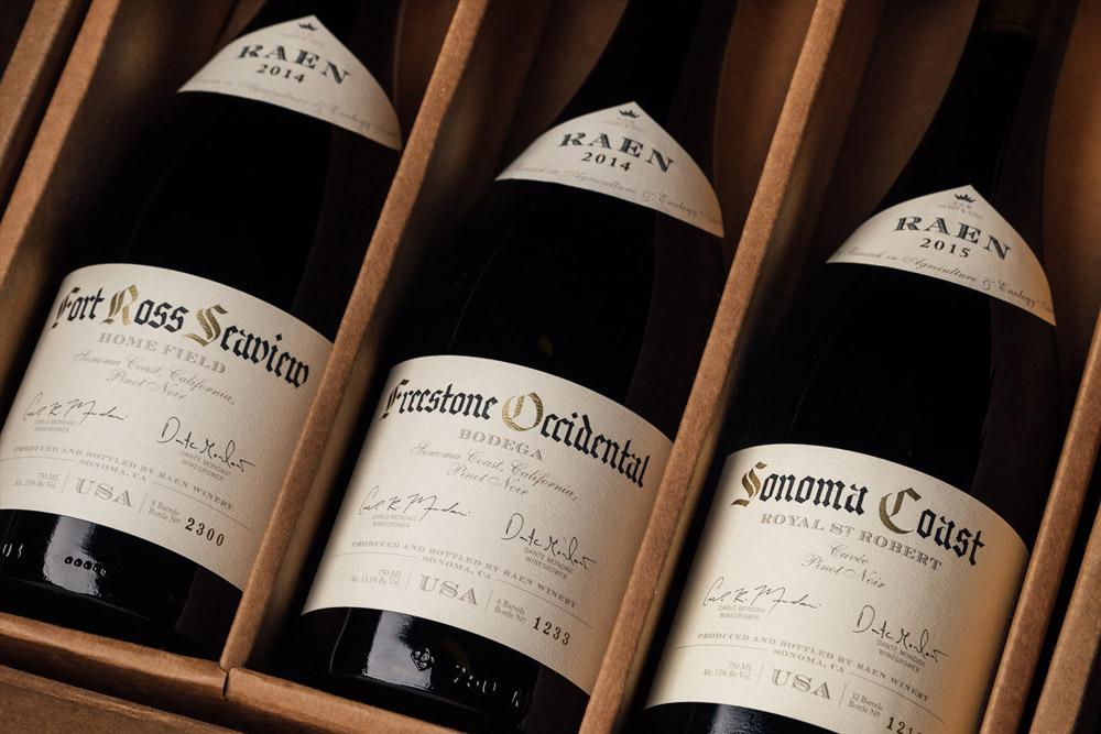 Raen Winery Packaging