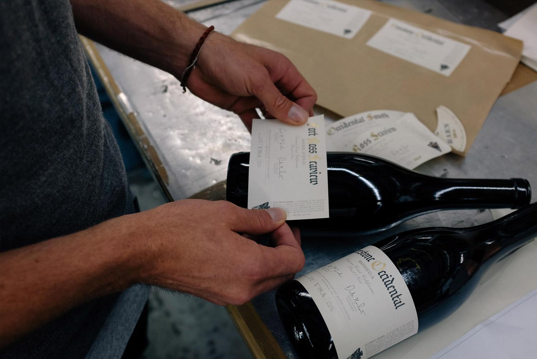 Raen Press Check Testing on Bottle