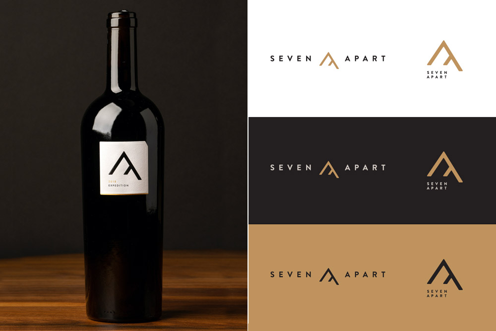 Seven Apart Packaging and Logo System