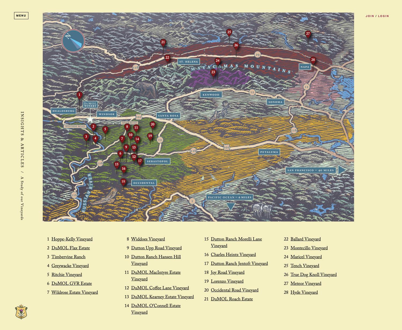 DuMol website vineyard map