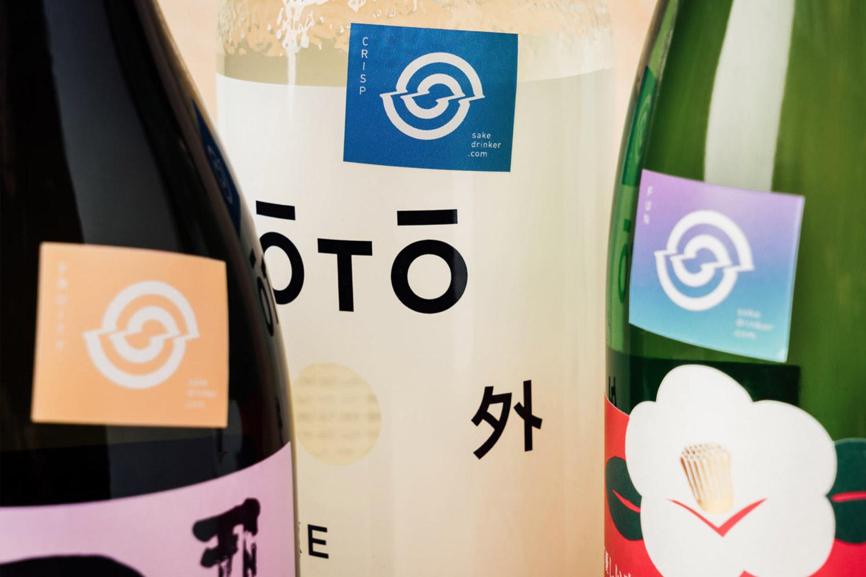 Sake Drinker flavor-profile labeling system