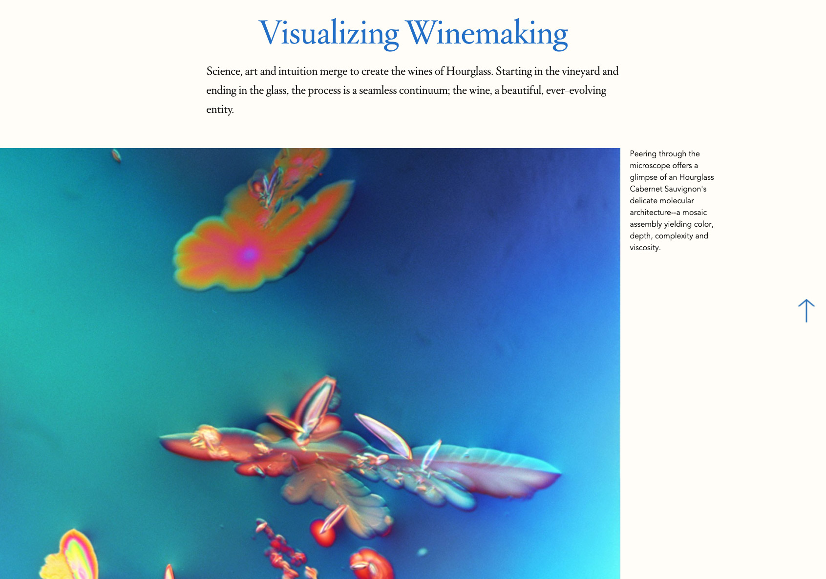 Hourglass Vineyards Molecular Wine Photography