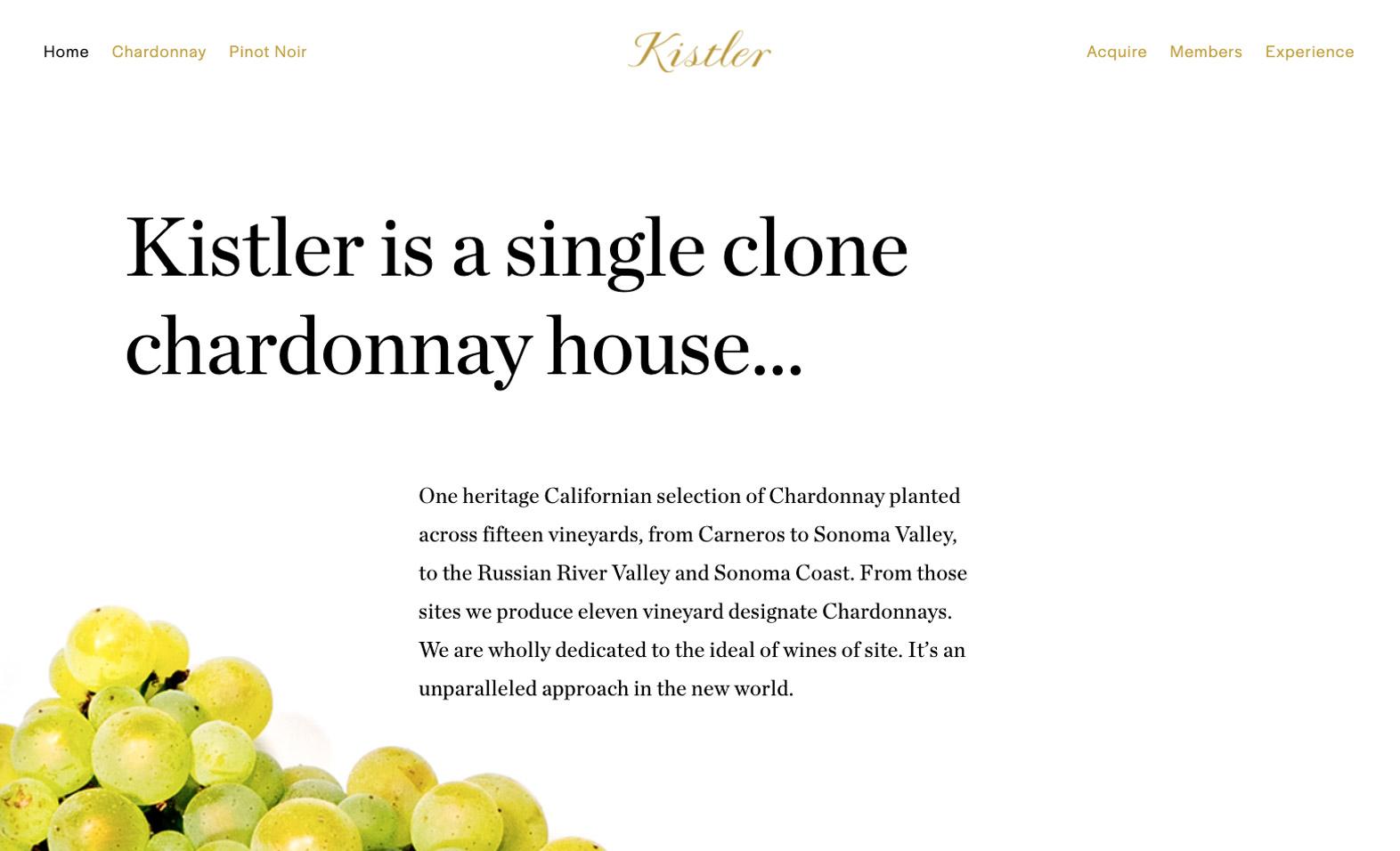 Kistler Website