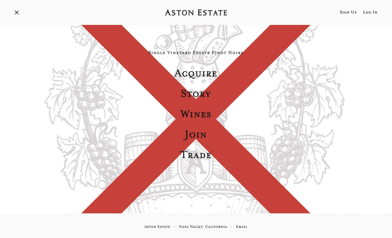 Aston Estate Website